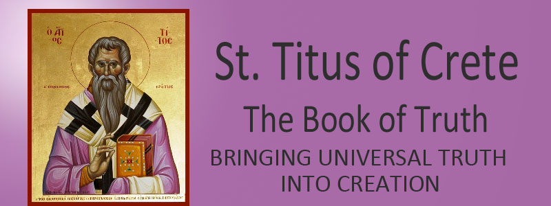 St. Titus of Crete Website Banner
